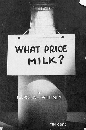 A pamphlet circulated by the New York City milk cooperative, Consumer-Farmer Milk Cooperative, for nearly 20 years.
